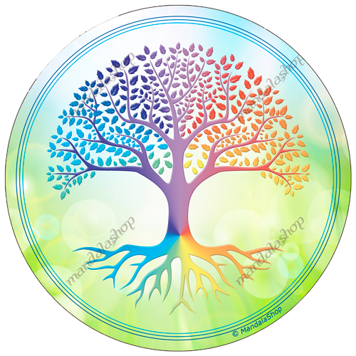 Round mouse pad Tree of Life