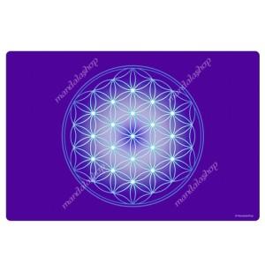 Indigo Flower of Life Harmonising Mat