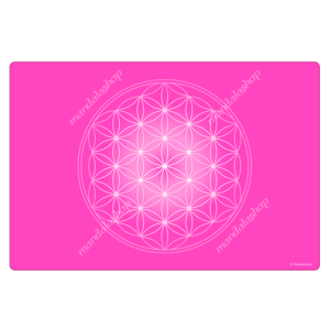 Rose Flower of Life Harmonising Mat