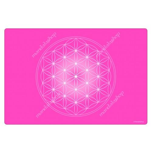 Rose Flower of Life Harmonising Mat