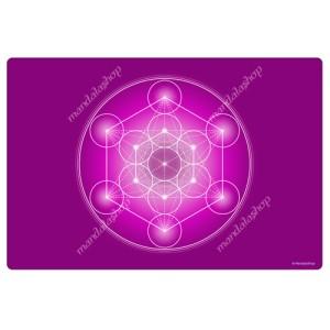 Violet Metatron's Cube Harmonising Mat