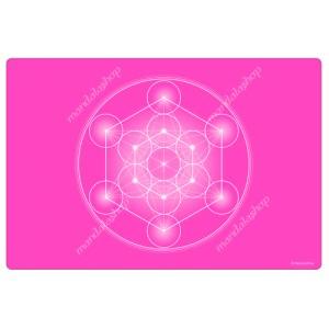 Rose Metatron's Cube Harmonising Mat