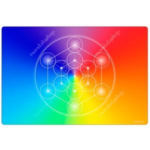 7-ray Metatron's Cube Harmonising Mat