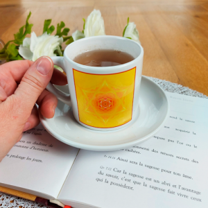 Tea cup Mandala of Inspiration