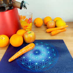 Flower of Life Energising Plate (7 coulàurs at choice)
