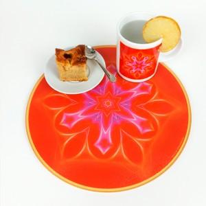 Round Energising Plate Mandala of Harmony