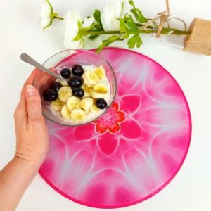 Round Energising Plate Mandala of Confidence