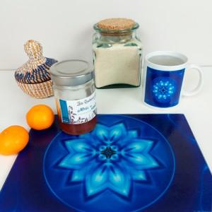 Energising Plate Mandala of Peace