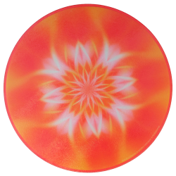 Round Energising Plate Mandala that enables the kindling of the inner light