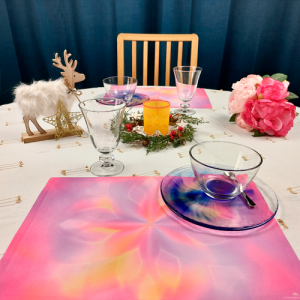 Table set Mandala Source of Happiness and Enthousiasm