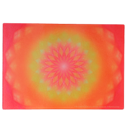 Energising plate Mandala of a strong and unfailing will