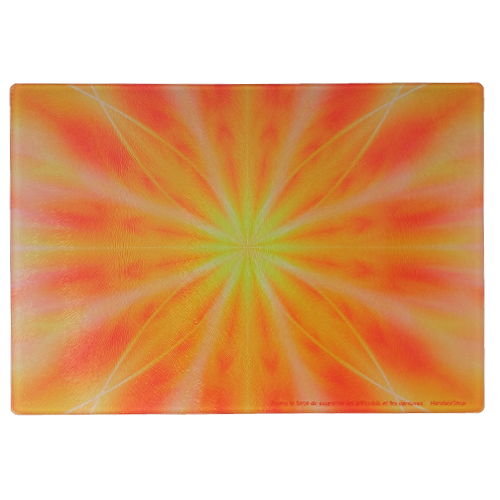 Energising plate Mandala that gives the strength to endure difficulties and trials