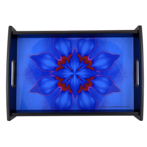 Serving tray Mandala of Concentration