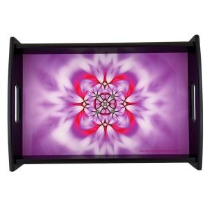 Serving Tray Mandala of Art
