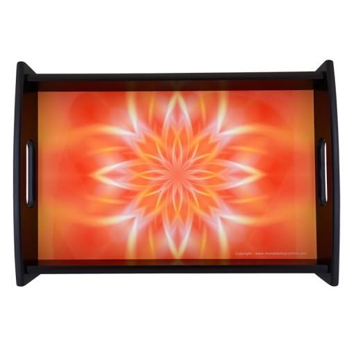 Plateau Mandala qui permet d'allumer la lumière intérieure