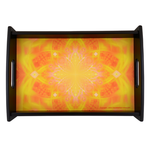 Serving Tray of the transcendence that allows to find divine glory