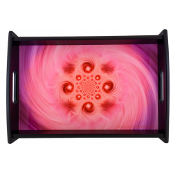 Serving Tray Mandala to surround oneself with harmonious forces
