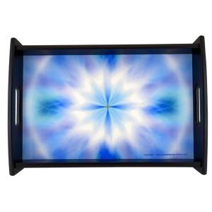 Plateau Mandala de la paix de l'esprit qui rayonne son énergie jusque dans le coeur