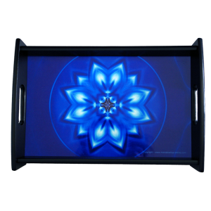 Serving Tray Mandala of Peace