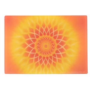 Cutting Board Mandala of the Covenant of light