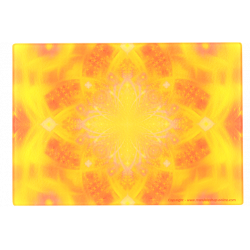 Cutting Board Mandala of the transcendence that allows to find divine glory