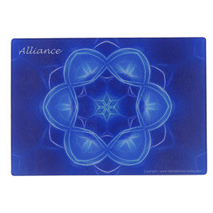 Plaque Mandala de l'Alliance