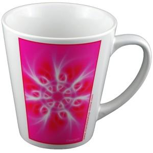 Tasse conique Mandala du Souffle