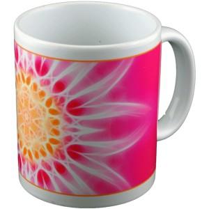 Panoramic mug Mandala of Family