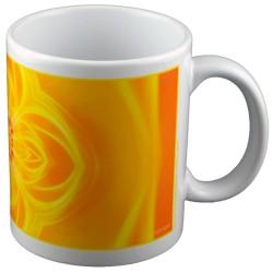 panoramic mug Mandala of Light