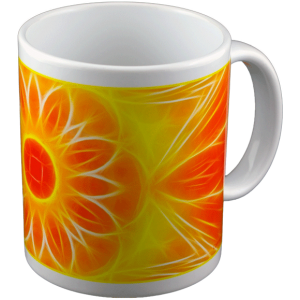 Panoramic mug Mandala of Abundance