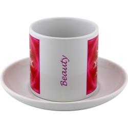 Tea cup Mandala of Beauty