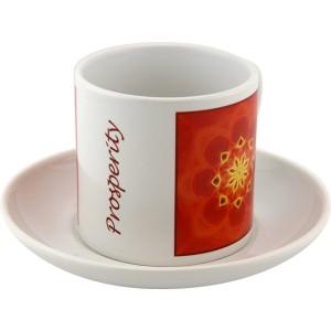 Tea cup Mandala of Prosperity