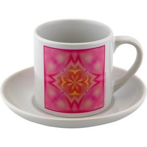 Tea cup Mandala of Love