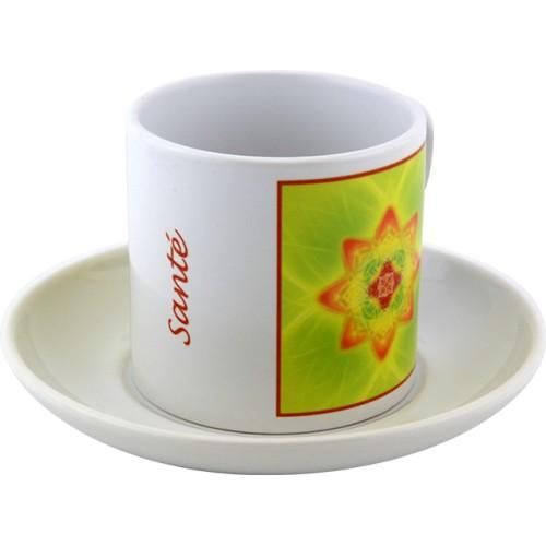 Tasse à thé Mandala de la Santé