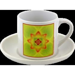 Tea cup Mandala of Health