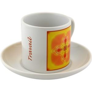 Tasse à thé Mandala du Travail