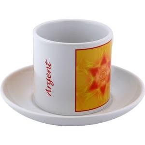 Tasse à thé Mandala de l'Argent