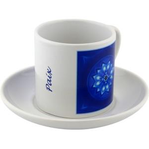Tasse à thé Mandala de la Paix