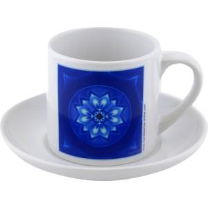 Tea cup Mandala of Peace