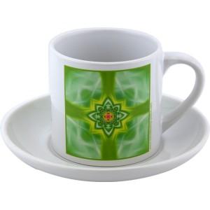 Tea cup Mandala of Balance