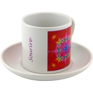 Tea cup Mandala of Smile