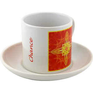 Tea cup Mandala of Chance