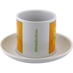 Tea cup Mandala of Blessing