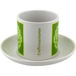Tea cup Mandala of Enthousiasm
