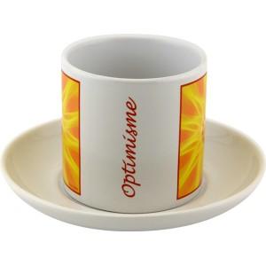 Tea cup Mandala of Optimism
