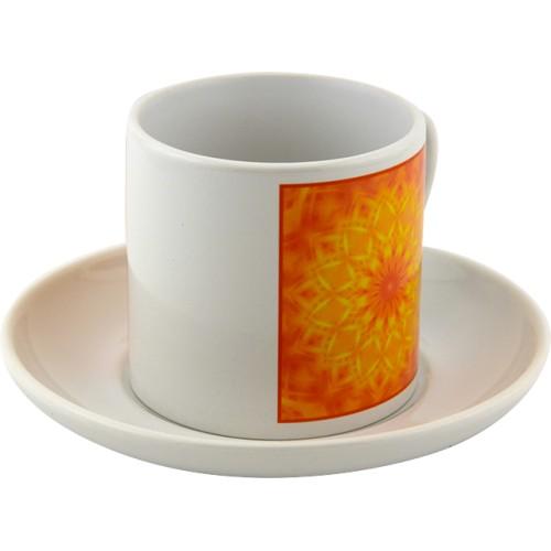 Tea cup Mandala to heal the phobia