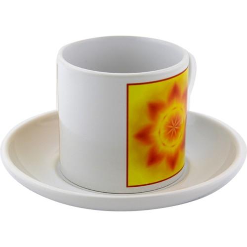 Tea cup Mandala Feng Shui for the house