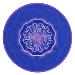 Round mouse pad Mandala of Clarity