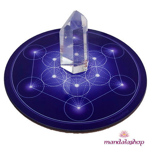 Cube de Metatron indigo