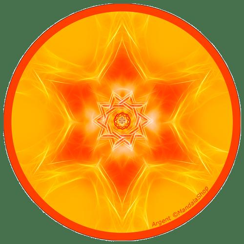 Mandala de l'Argent
